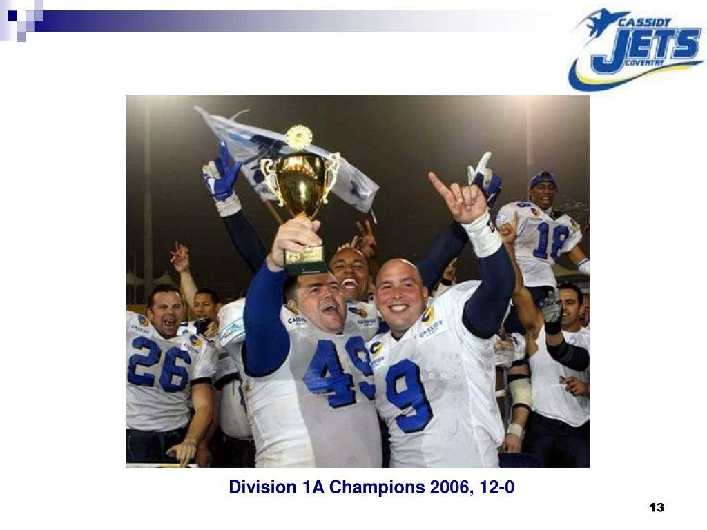 Division 1A Champions 2006, 12-0