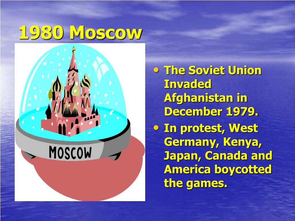 1980 Moscow