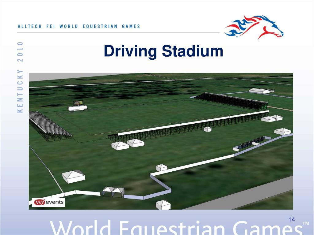 Driving Stadium