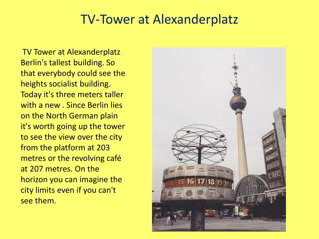 TV-Tower at Alexanderplatz