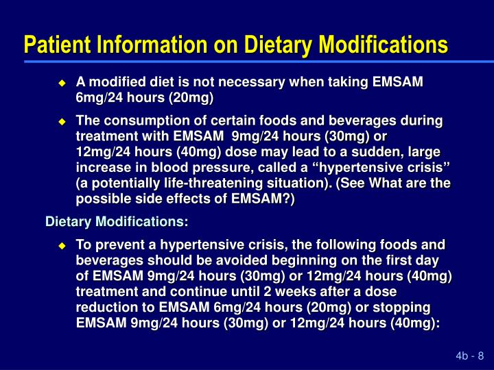 Patient information on dietary modifications l.jpg