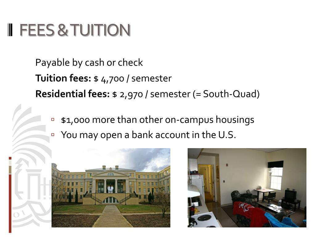 FEES & TUITION