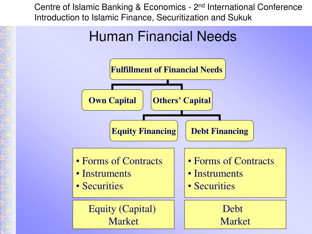 Human Financial Needs