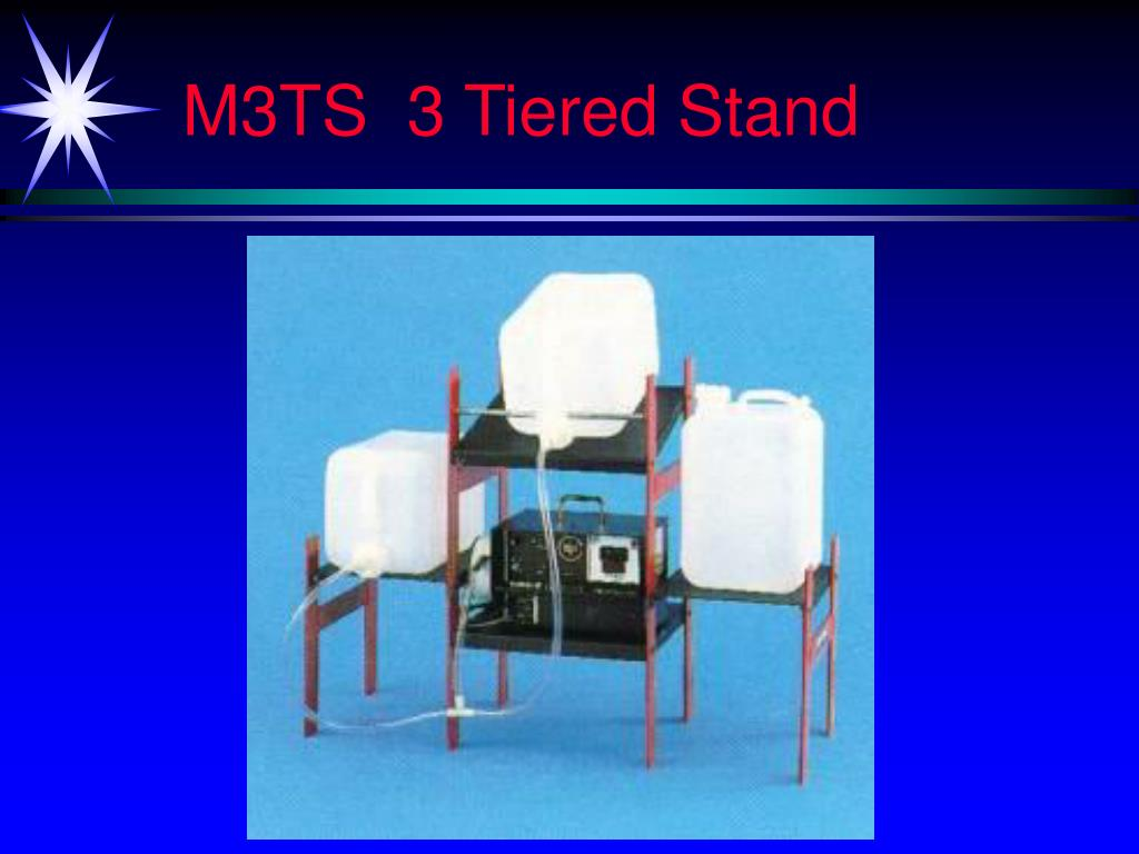 M3TS  3 Tiered Stand