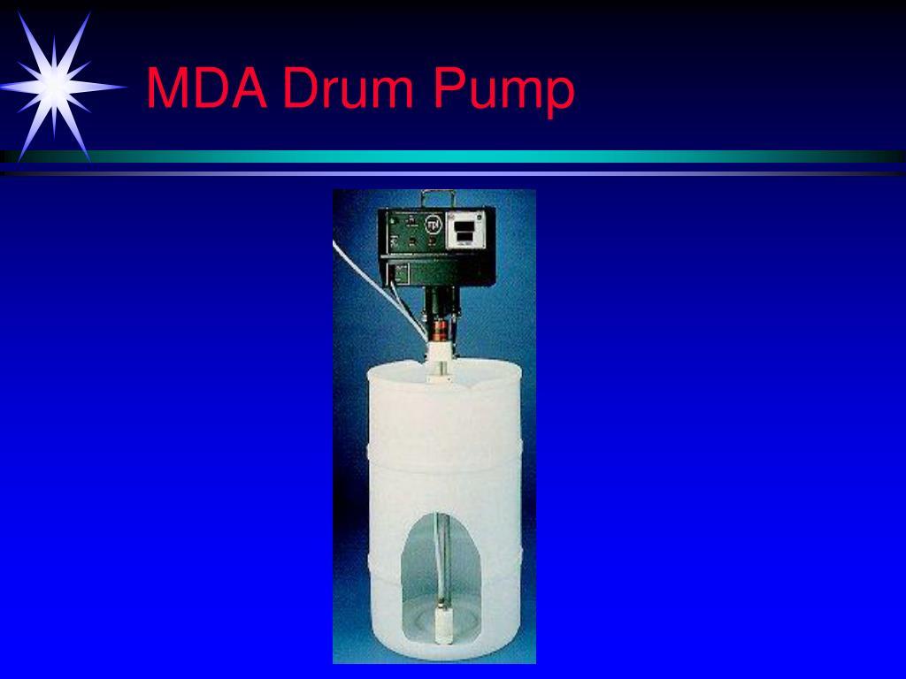 MDA Drum Pump
