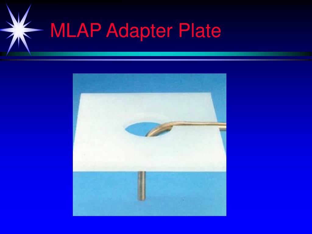 MLAP Adapter Plate