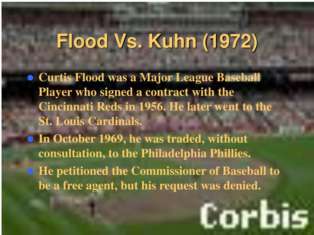 Flood Vs. Kuhn (1972)