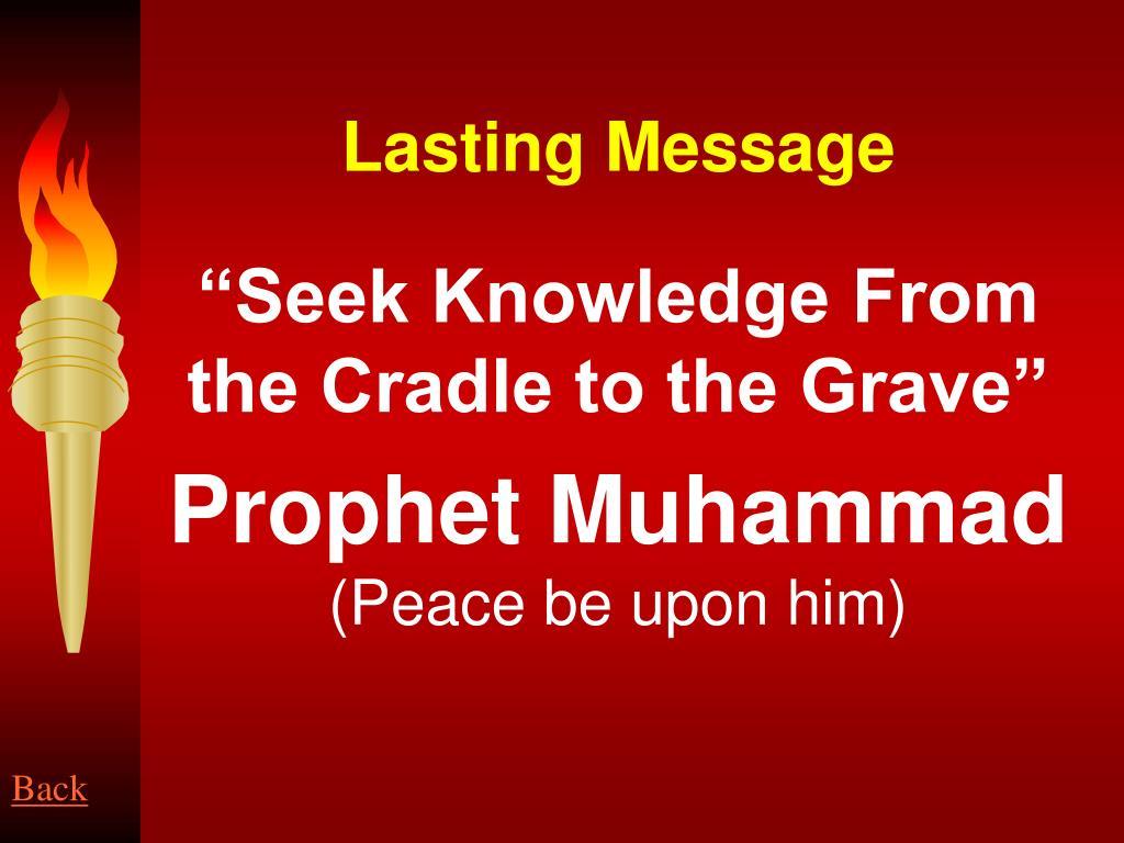 Lasting Message