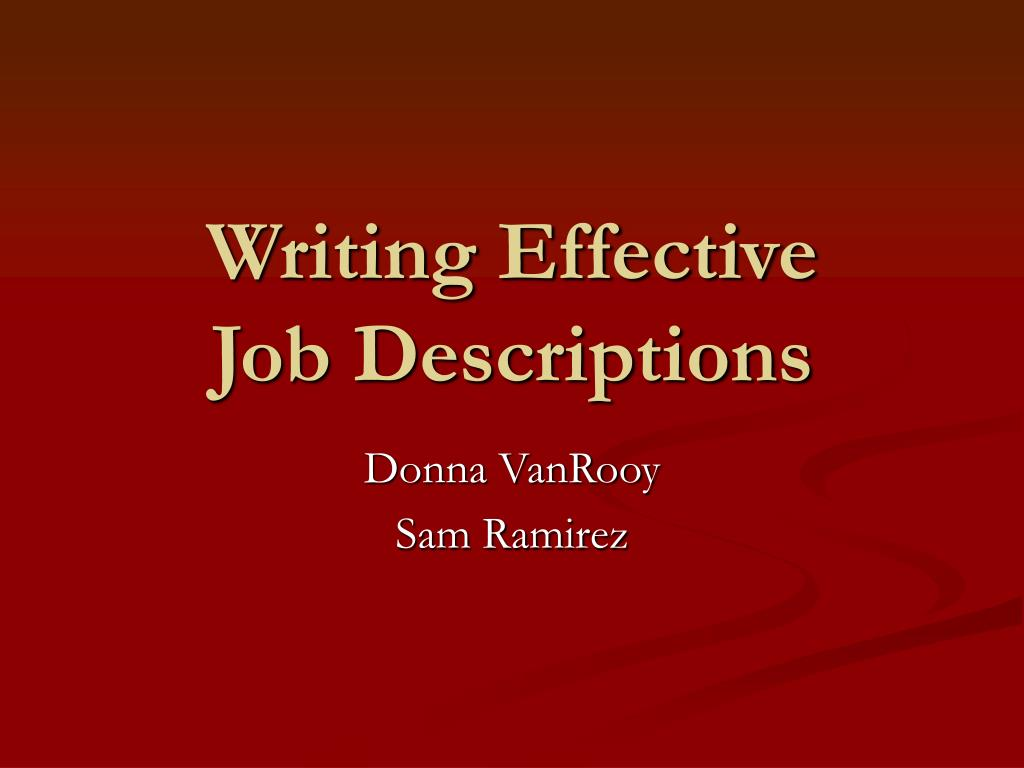 writing effective letters for job searching