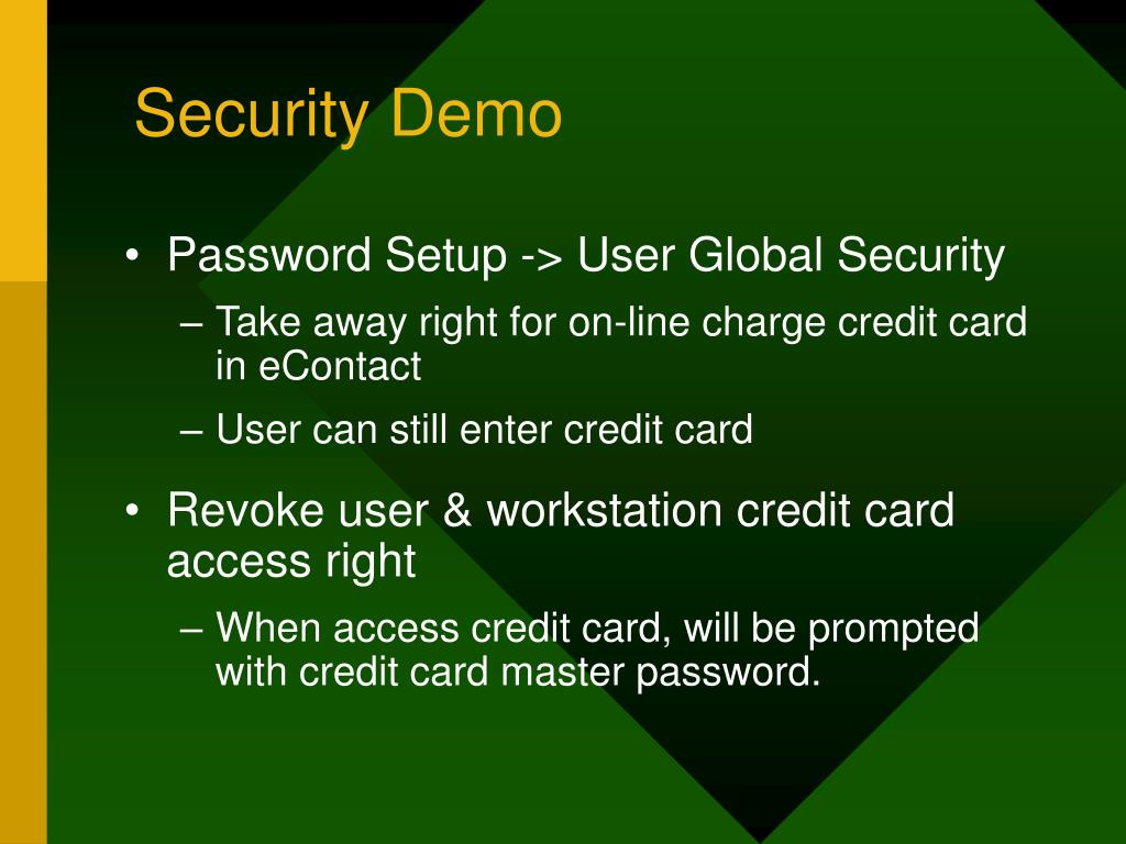 Security Demo