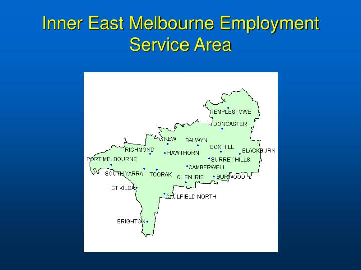 Inner East Melbourne Employment Service Area