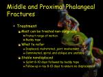 middle and proximal phalangeal fractures4