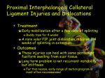 proximal interphalangeal collateral ligament injuries and dislocations5