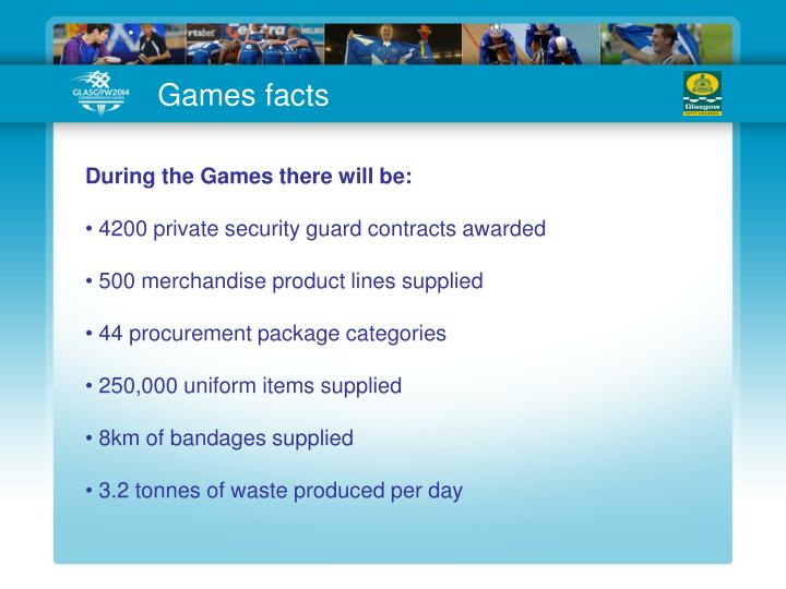 Games facts