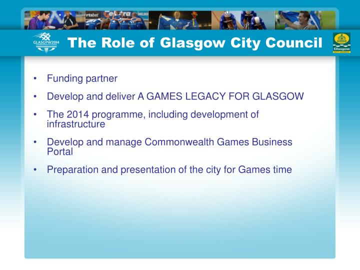 The Role of Glasgow City Council