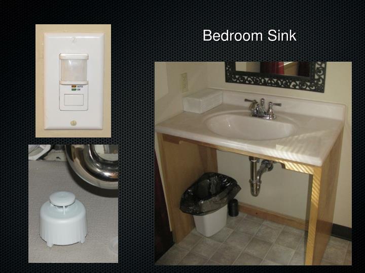 Bedroom Sink