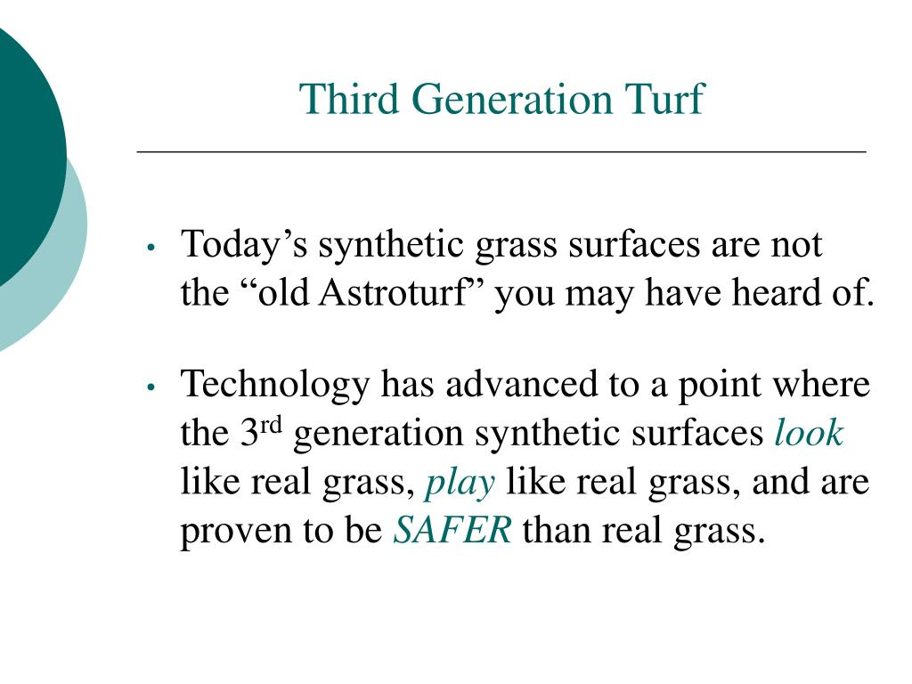 Third Generation Turf