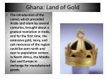ghana land of gold