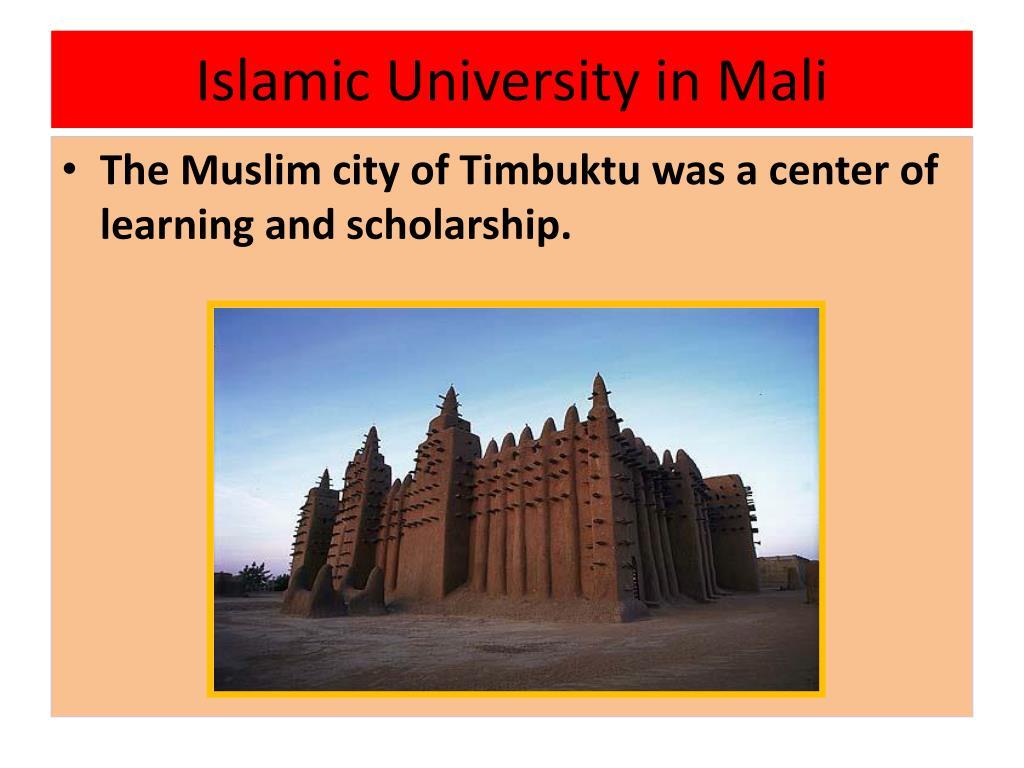 Islamic University in Mali