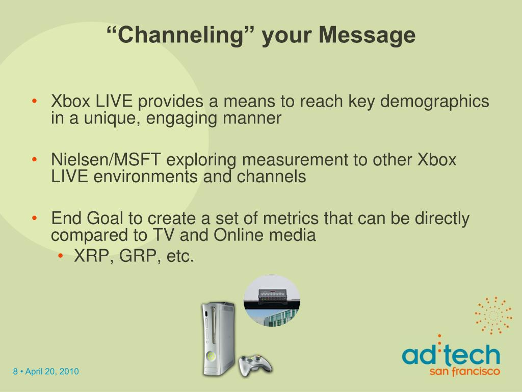 """""""Channeling"""" your Message"""