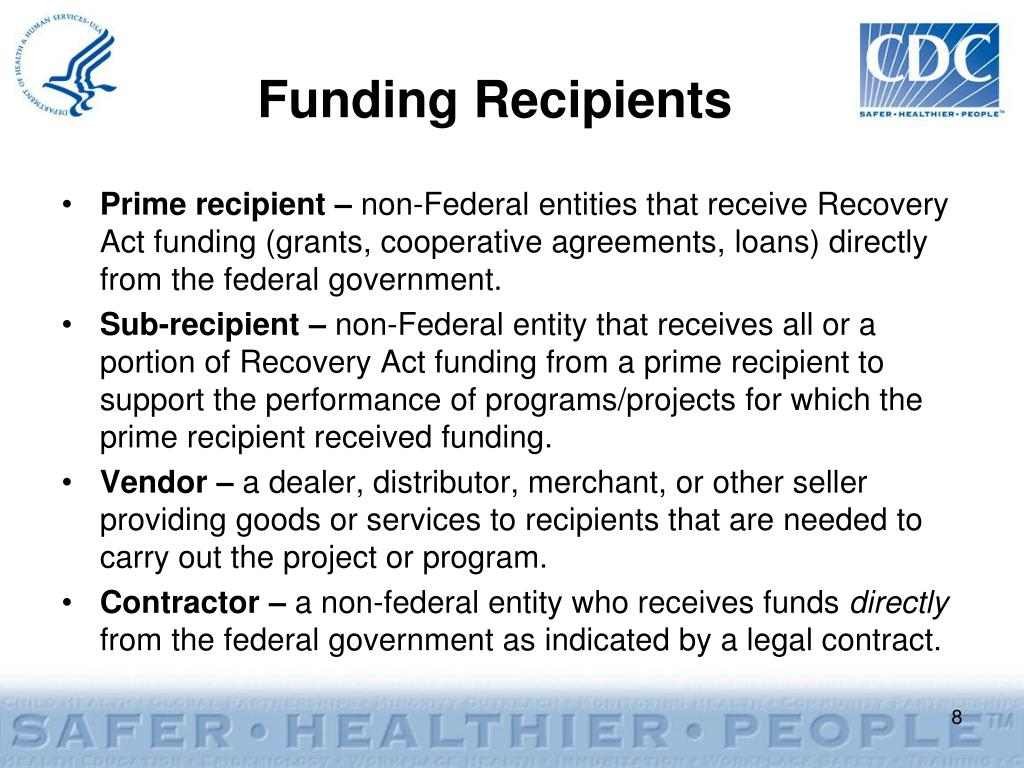 Funding Recipients