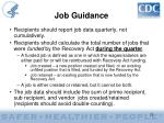 job guidance