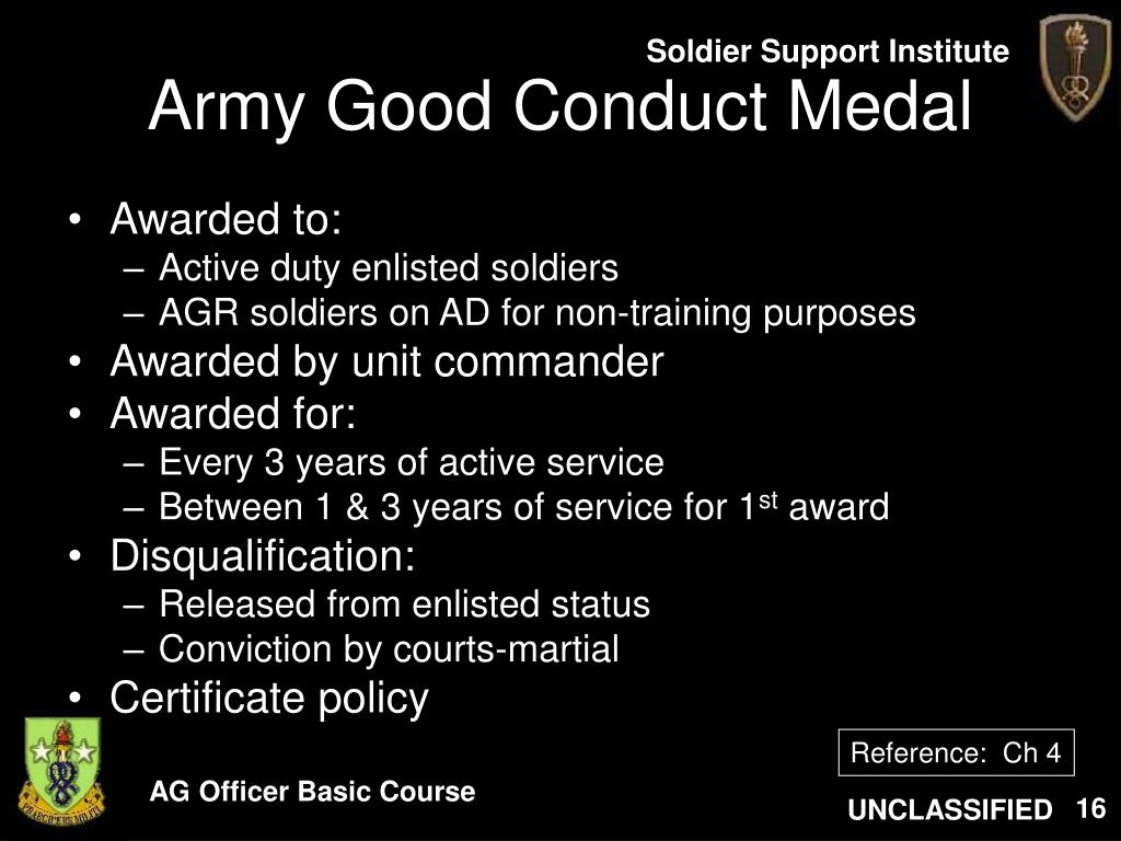 Army certificate appreciation template ppt certificate for Army good conduct medal certificate template