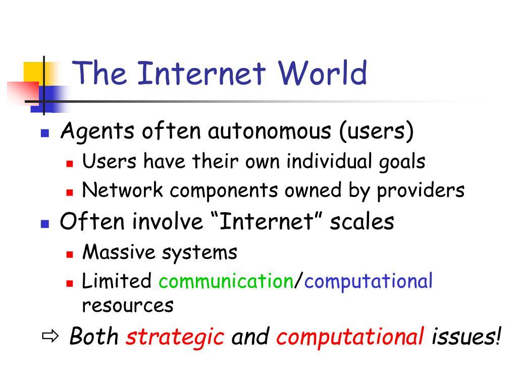 The Internet World