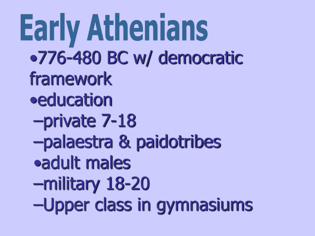 Early Athenians