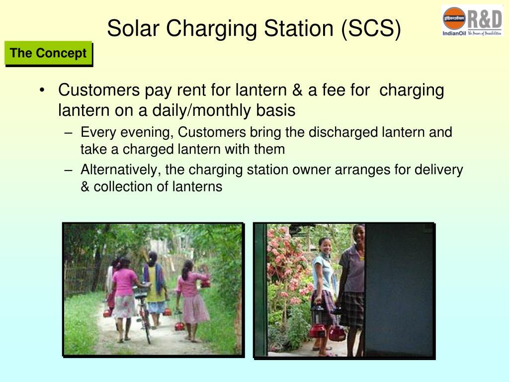 Solar Charging Station (SCS)