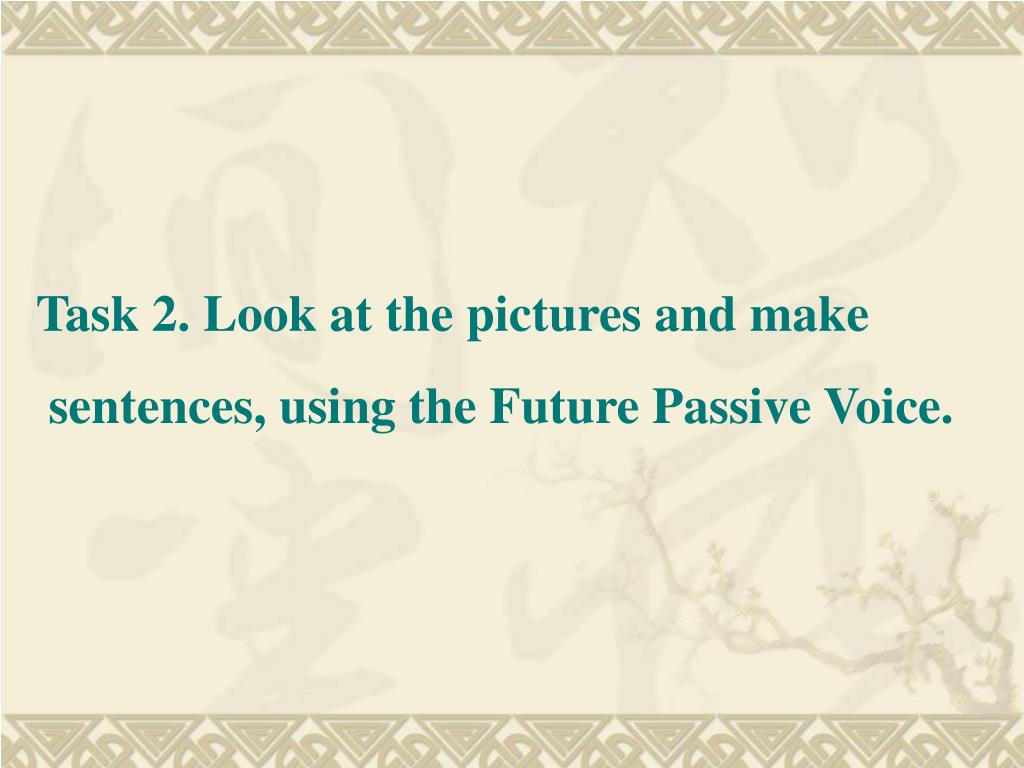 Task 2. Look at the pictures and make