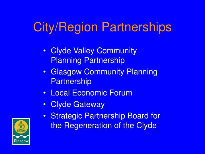 City/Region Partnerships