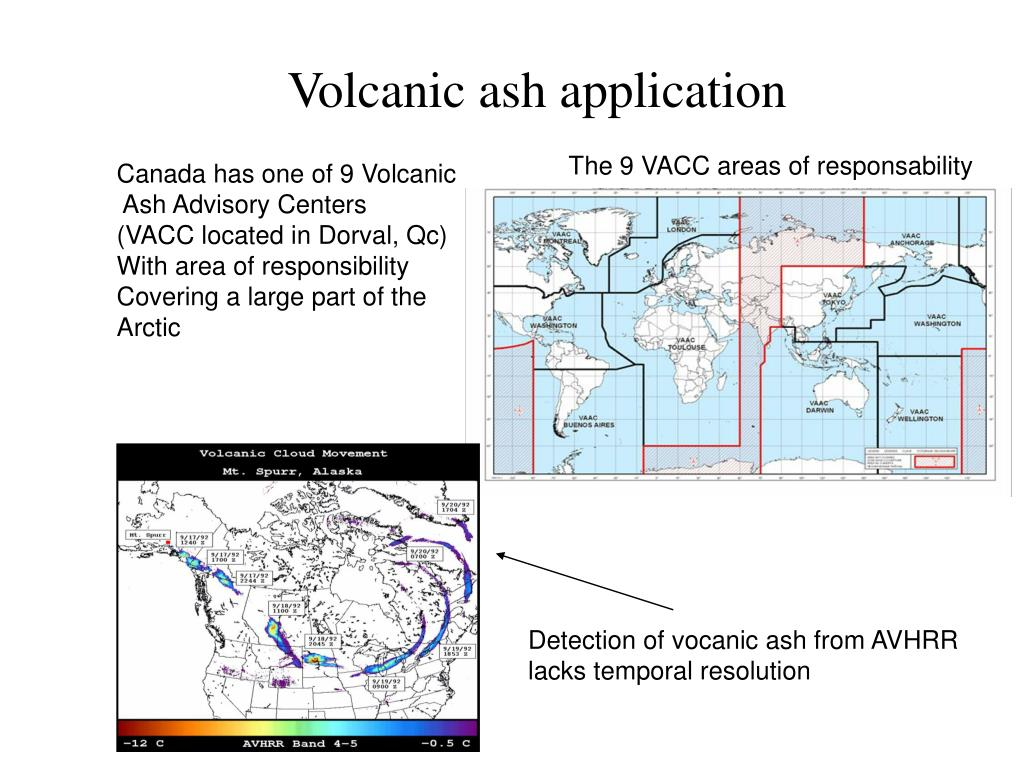 Volcanic ash application
