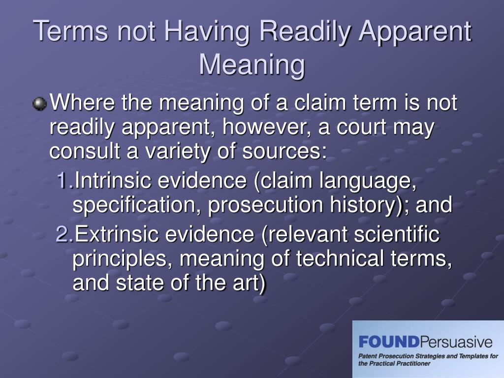 Ppt claim interpretation powerpoint presentation id 182348 for State of the art meaning