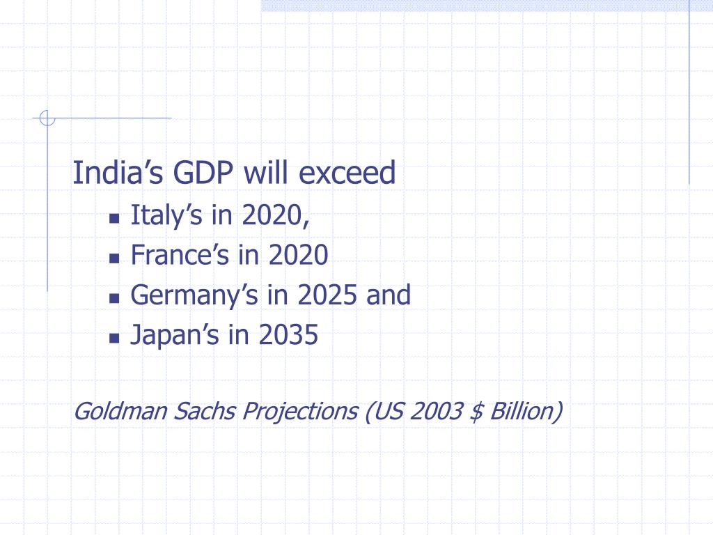 India's GDP will exceed