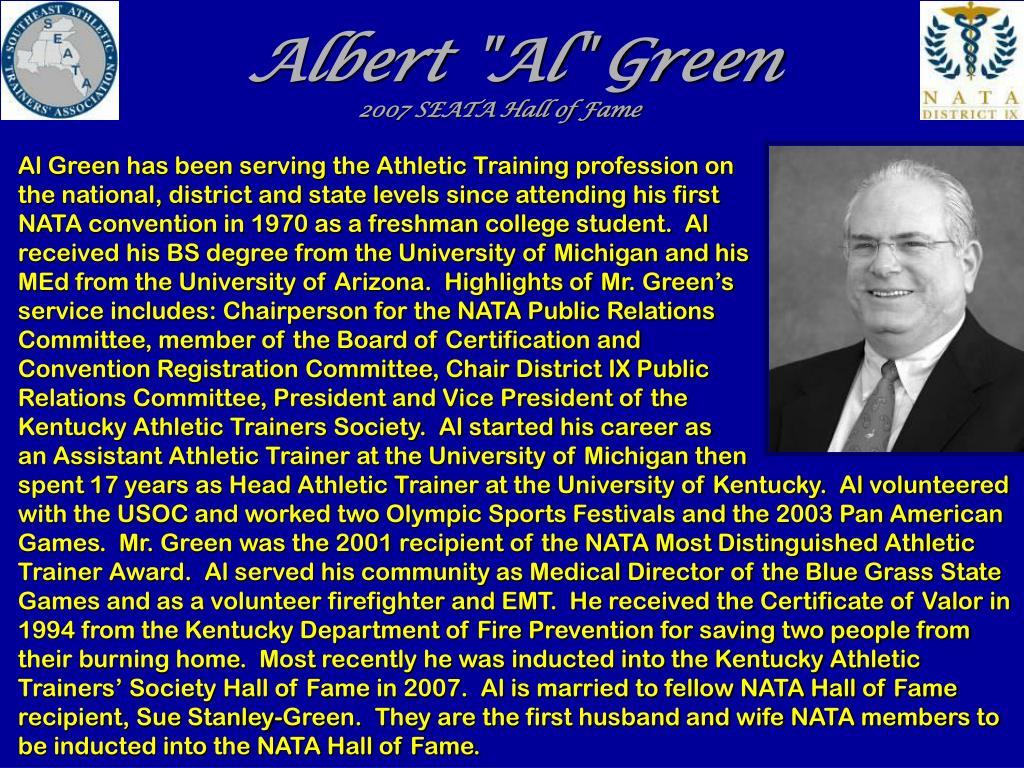 "Albert ""Al"" Green"