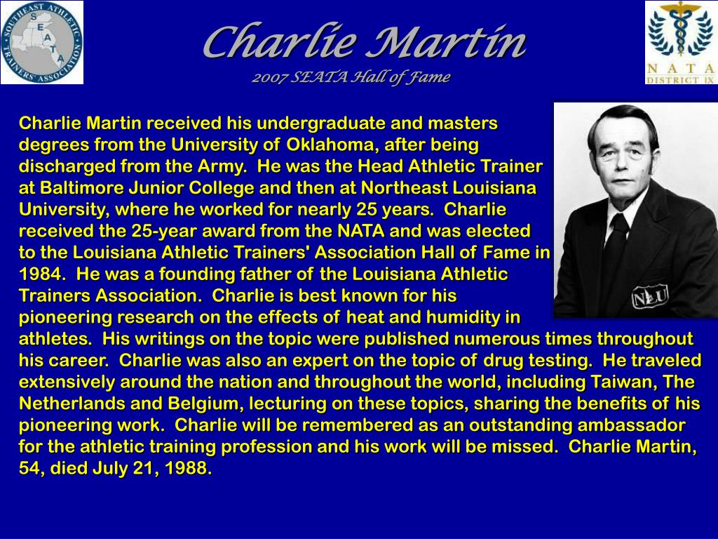 Charlie Martin