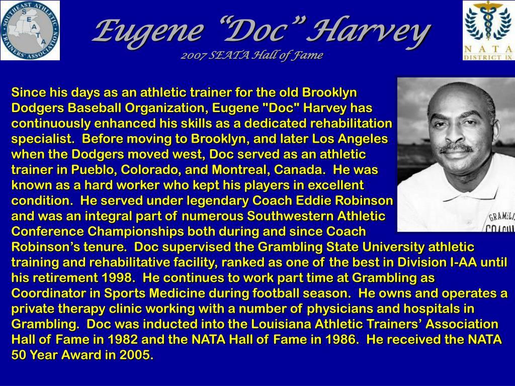 """Eugene """"Doc"""" Harvey"""