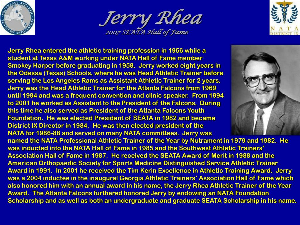 Jerry Rhea