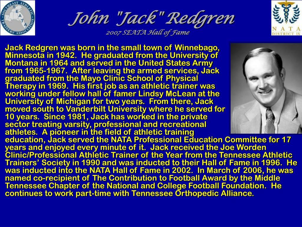 """John """"Jack"""" Redgren"""