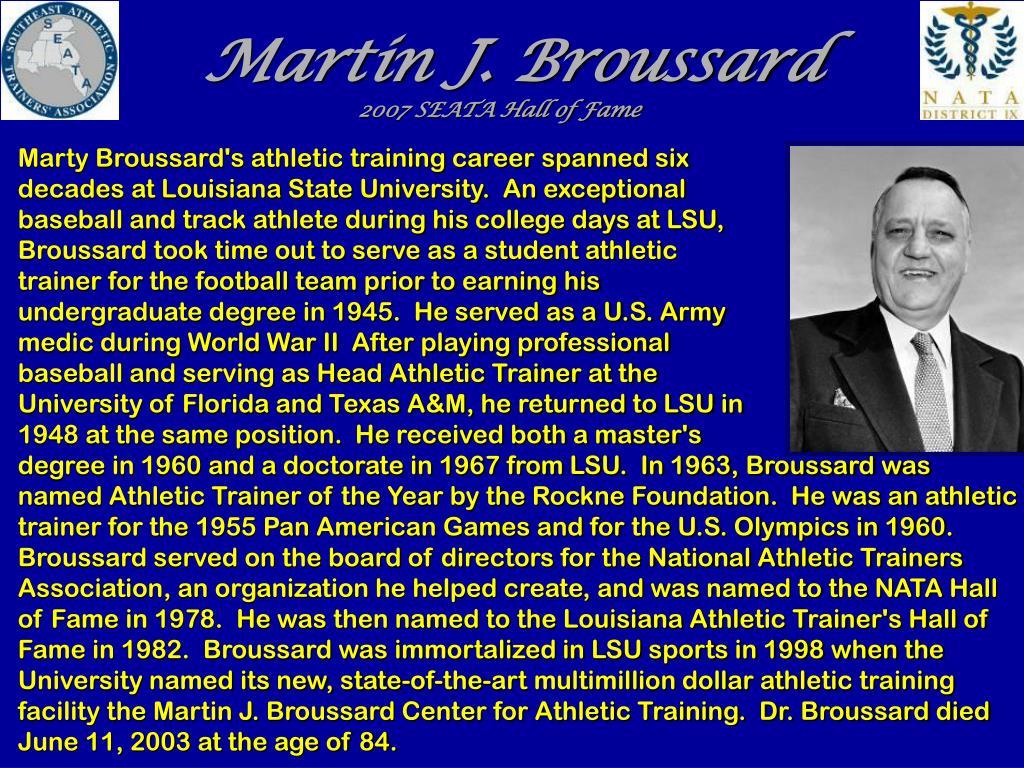 Martin J. Broussard