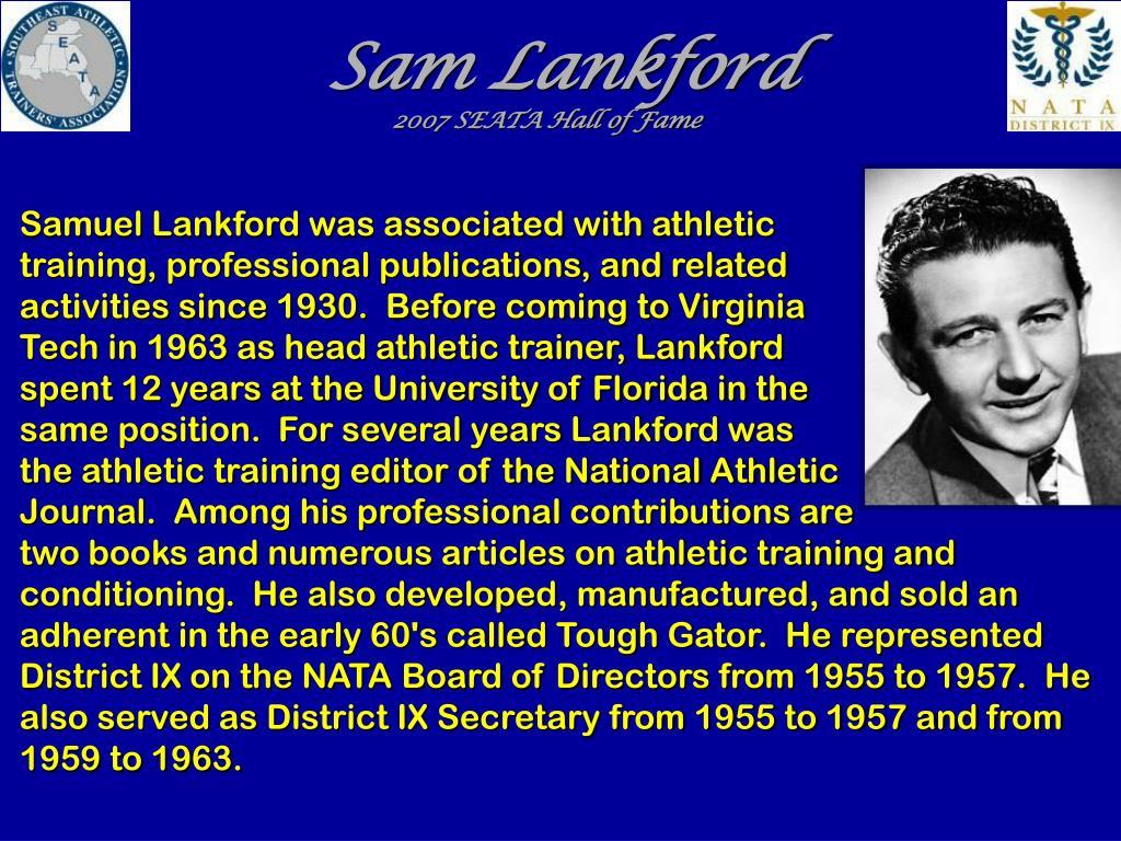Sam Lankford