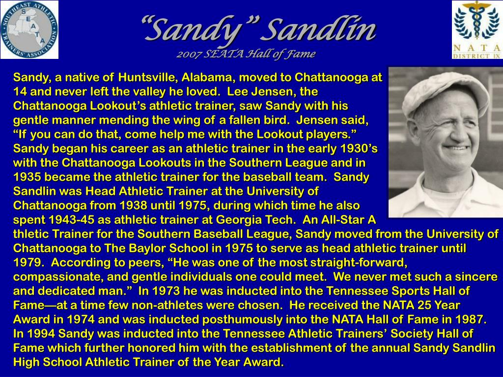 """Sandy"" Sandlin"