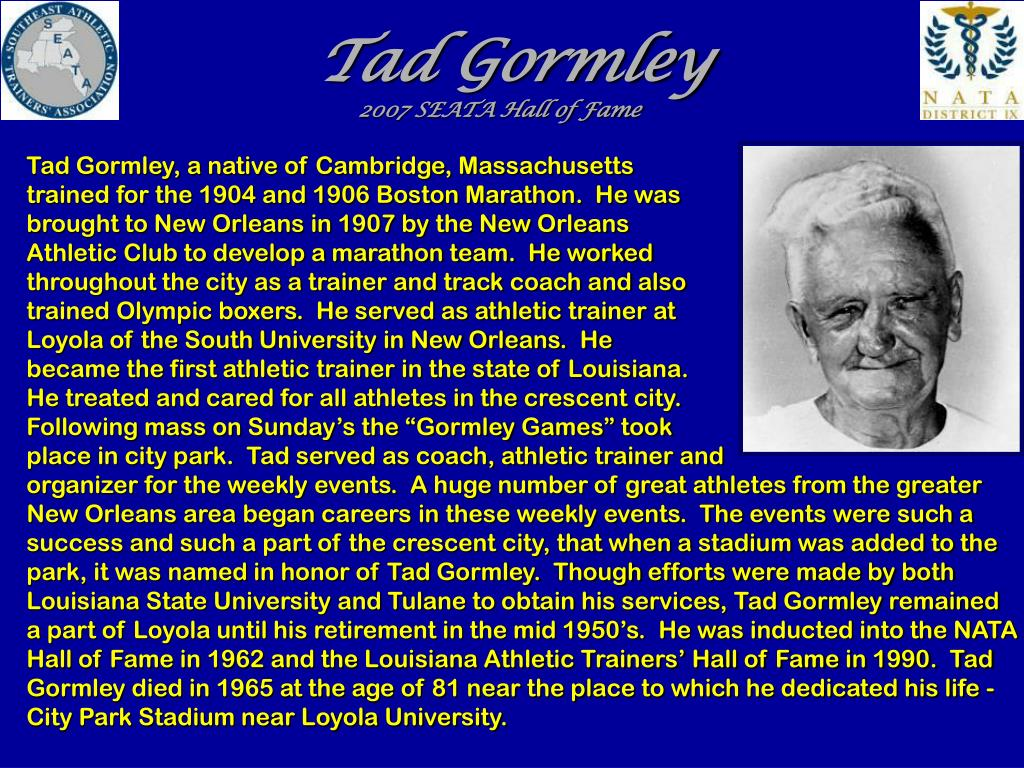 Tad Gormley