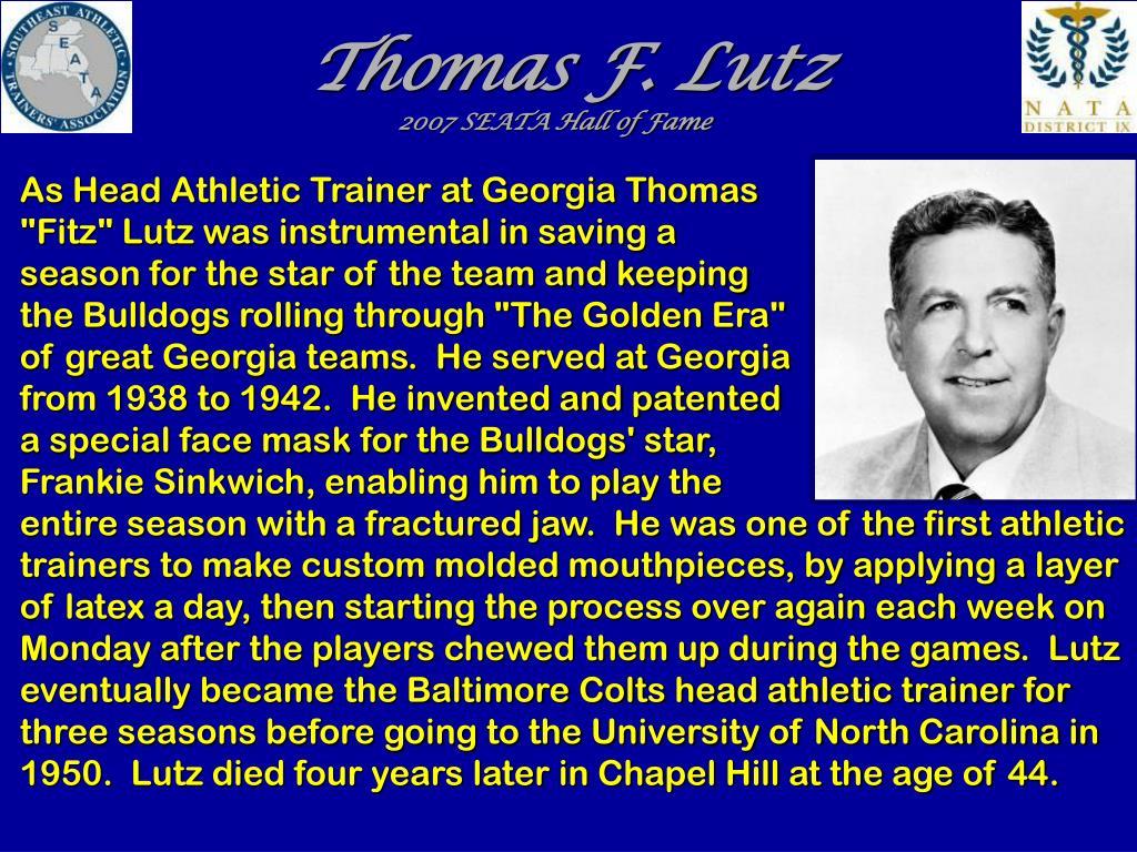 Thomas F. Lutz