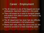 career employment