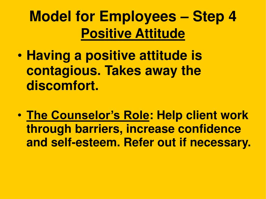 Model for Employees – Step 4