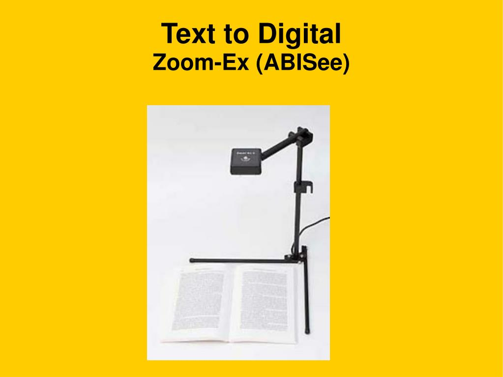 Text to Digital