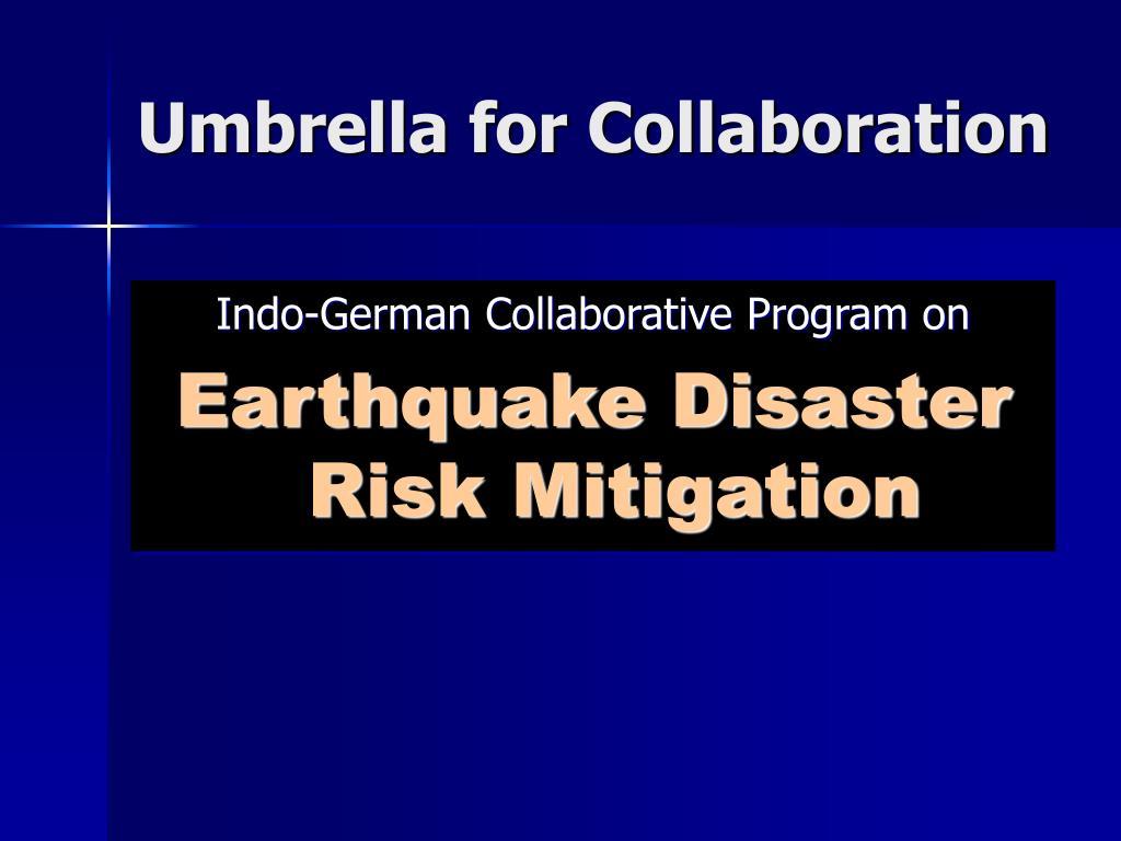 Umbrella for Collaboration