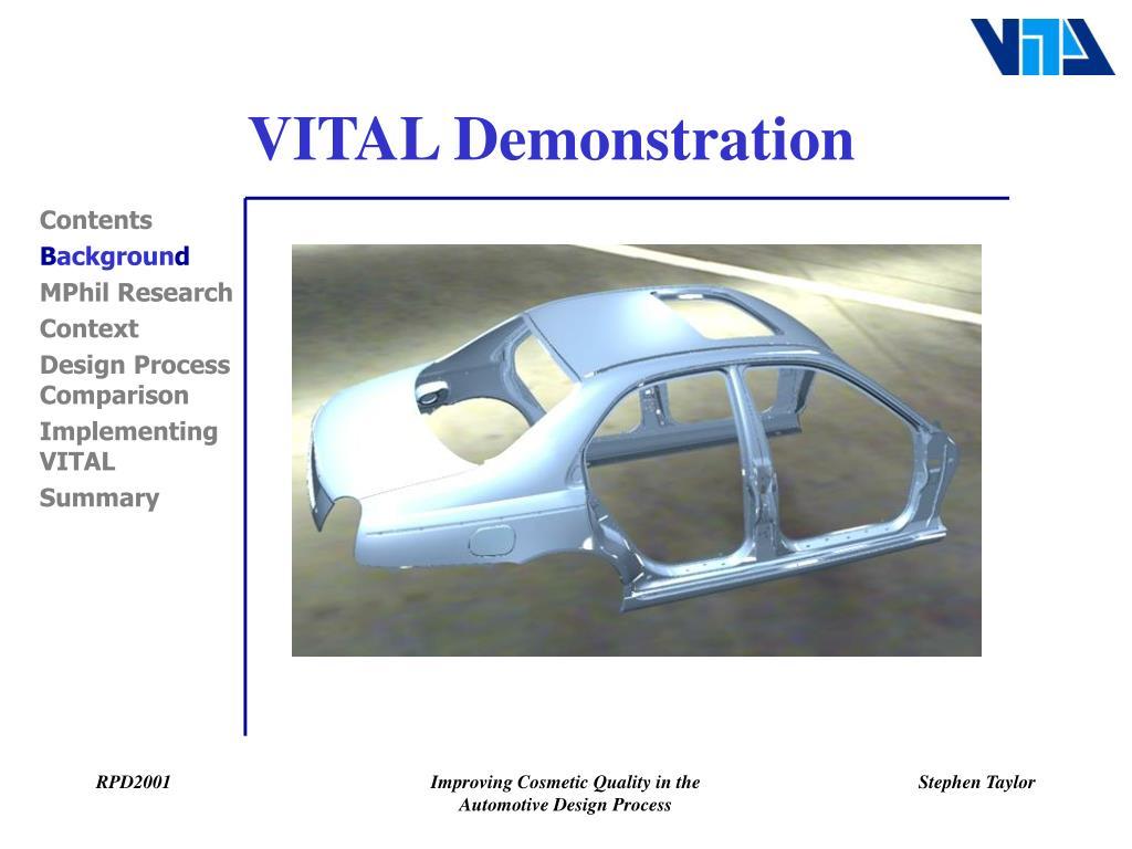 VITAL Demonstration
